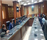 نائب محافظ سوهاج يلتقي أعضاء برلمان شباب مصر