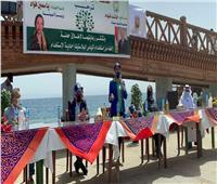 وزيرة البيئة ومحافظ جنوب سيناء يعلنان 2021 عام مدينة دهب