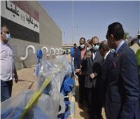 محافظ أسيوط يتفقد تجديد محطة مياه ديروط المرشحة ومد وتدعيم الشبكات