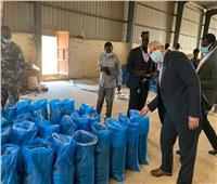 وزير الزراعة يتفقد المشروعات الزراعية بجنوب السودان ..صور