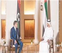 «الإمارات» تستقبل الدبيبة وتؤكد دعمها للسلطة الجديدة