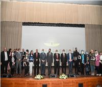 وزير السياحة ومحافظ القاهرة يشهدان تكريم المشاركين بموكب المومياوات الملكية