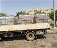 ضبط مواد غذائية ومواد كيماوية مجهولة بـ«غرب الإسكندرية»