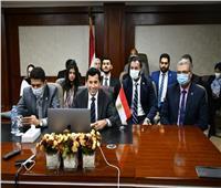 صبحي يشهد جلسة رئيسية ضمنمنتدى شباب المجلس الاجتماعي للأمم المتحدة