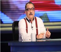 إبراهيم عيسي يُطالب «المشاهير» بنشر صور تطعيمهم بلقاح كورونا