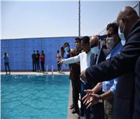 وزير الشباب والرياضة يفتتح مركز شباب الأمل بمدينة ١٥ مايو