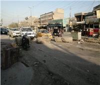 إغلاق مخارج ومداخل بغداد بالحواجز الكونكريتية