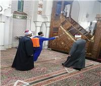 حملة لتكثيف تطهير وتعقيم المساجد طول شهر رمضان