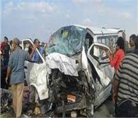 بالأسماء.. إصابة 6 مواطنين في تصادم بمدخل مدينة الزقازيق