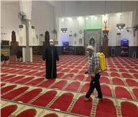 «أوقاف الإسماعيلية» تطلق حملة موسعة لنظافة وتعقيم المساجد قبل رمضان
