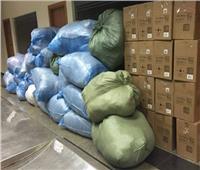 مصادرة بضائع أجنبية قبل تهريبها عبر المنافذ
