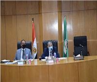 محافظ المنيا يتابع الموقف التنفيذي لمشروعات المبادرة الرئاسية «حياة كريمة»