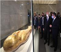 الرئيس التونسي يزور متحف الحضارة وقلعة صلاح الدين| فيديو وصور