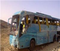 وفاة سائق «أتوبيس سياحي» فى تصادم مع «نقل» بطريق سفاجا الغردقة