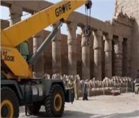 نظر دعوى وقف نقل تماثيل الكباش لتزيين ميدان التحرير