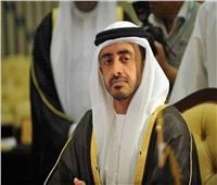 وزير الخارجية الإماراتي يبحث مع مبعوث أممي الأوضاع على الساحة الليبية