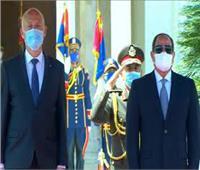 السيسي يثمن المستويات المتميزة التي وصلت إليها العلاقات بين مصر وتونس