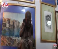 الفنان التشكيلي عبد الرازق عكاشة:أعداء مصر هزموا في موقعة المومياوات| فيديو