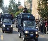 إصابة سائق وأمين شرطة في انقلاب سيارة ملاكي على طريق رافد جمصه بالدقهلية