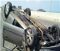 اصابة 3 أشخاص إثر انقلاب سيارتهم في الإسماعيلية