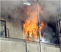 السيطرة على حريق بمنزل مغلق بالمنصورة
