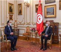مدبولي يلتقي الرئيس التونسي بقصر القبة | صور