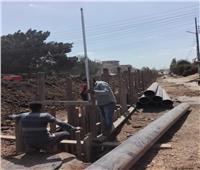 توصيل الغاز الطبيعي والصرف الصحي بمبادرة « حياة كريمة»بالمنوفية