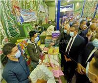 محافظ البحيرة يفتتح معرض «أهلاً رمضان» للسلع الغذائية بإيتاى البارود