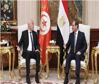 الرئيس التونسي يشهد حفلا طربيا بالأوبرا المصرية