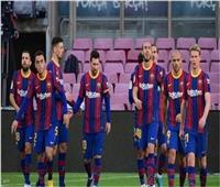 كلاسيكو الأرض| برشلونةيسجل الهدف الأول على ريال مدريد 1-2