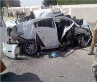 إصابة 4 أشخاص في حادث انقلاب سيارة أعلى محور 30 يونيو بالإسماعيلية