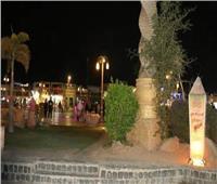السوق التجاري القديم بشرم الشيخ يتزين استعدادًا لشهر رمضان