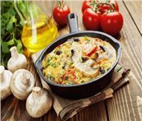 «وجبة إفطار دايت» .. أومليت بالخضار
