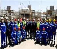 البترول: محطة ضواغط غاز دهشور تعمل على تأمين الاستهلاك كوقود لجنوب مصر