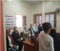 جامعة حلوان تواصل أنشطتها المجتمعية بـ«كفر العلو»