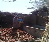 إزالة فورية لـ 21 حالة تعدي على الأراضي الزراعية بالمنوفية | صور