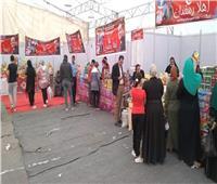 افتتاح معرض «أهلا رمضان» لبيع السلع الغذائية بسمالوط  صور