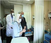 وزيرة الصحة توجه الأطقم الطبية بأهمية دعم مصابي كورونا نفسيًا