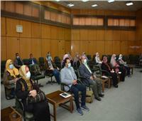 نائب رئيس جامعة أسيوط يفتتح ورشة عمل لتدريب العاملين