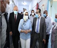 وزيرة الصحة توجه بإنهاء أعمال تطوير «صدر قنا» خلال شهر