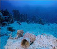 الكشف عن مقدمة السفينة الغارقة بجزيرة سعدانة بالبحر الأحمر