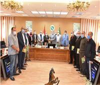 تكريم فريق تنس الطاولة بالشرقيةلفوزهم ببطولة المصالح الحكومية