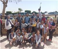 شباب الجزيرة يحصد 32 ميدالية في بطولة كأس مصر للجمباز