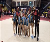 جمباز الأهلي  «5 ميداليات» في بطولة الجمهورية للناشئات تحت12 عامًا