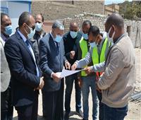 محافظ المنيا يتابع إنشاء 78 عمارة بالإسكان فوق المتوسط