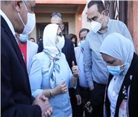 وزيرة الصحة: إمداد مستشفيات سوهاج بالأجهزة والمستلزمات الطبية