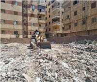 إزالة عدد من المخالفات بحي الهرم ..صور