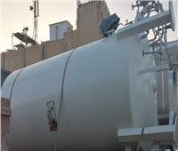 وكيل وزارة الصحة بالبحر الأحمر يشهد توريد وتركيب خزان اكسجين بمستشفى رأس غارب
