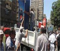 شرطة المرافق تضبط 720 حالة إشغال في الجيزة