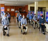 الصحة: بدء تطعيم العاملين بالسياحة بلقاح كورونا في جنوب سيناء   صور